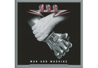 Udo - Man And Machine (Re-Release+Bonus) - (CD)
