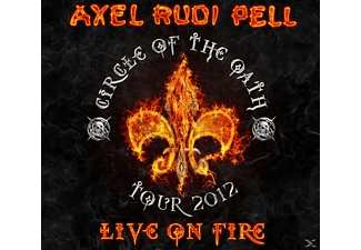Axel Rudi Pell - Live On Fire - (CD)