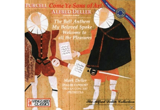 Alfred Deller, Deller Consort, Oriana Concert Orchestra - Come Ye Sons of Art - (CD)