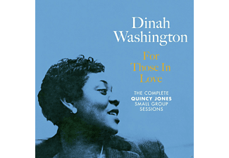 Dinah Washington - For Those In Love - The Complete Quincy Jones Small Group Sessions - (CD)
