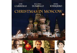 José Carreras, Plácido Domingo, Sissel Kyrkjebo - Christmas In Moscow - (CD)
