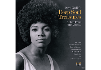 VARIOUS - Dave Godin's Deep Soul Treasures Taken From The Va - (Vinyl)