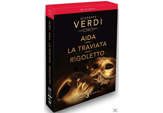VARIOUS - Aida / La Traviata / Rigoletto - (DVD)