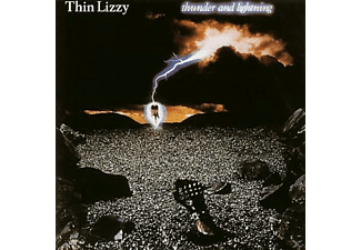 Thin Lizzy - Thunder And Lightning (Limited Black To Black LP) [Vinyl]