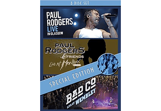 Paul Rodgers & Bad Company - Live In Glasgow - Live At Montreux - Live At Wembley - Special Edition (DVD)