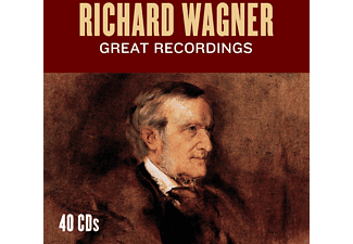 Waltraud Maier, Peter Hofmann, Göstha Winbergh, Berliner Philharmoniker, Symphony Of The Air, Radio-Sinfonieorchester Stuttgart, Royal Philharmonic Orchestra, New York Philharmonic Orchestra, Buenos Aires Philharmonic Orchestra of the Teatro Colon, VARIOUS - Richard Wagner - Great Recordings [CD]