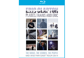 Eric Clapton - Planes, Trains And Eric - Mid And Far East Tour 2014 (Blu-ray)