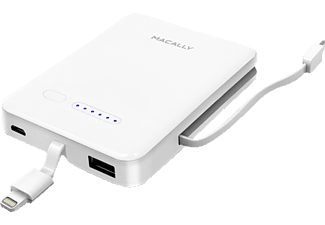 MACALLY MBP30L 3000 mAh Batteripack med Lighing och Micro-USB