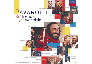 Eric Clapton, Luciano Pavarotti, VARIOUS, John, The Crow, Minnelli, Pavarotti/John/Clapton/Crow/Minnelli/+ - Pavarotti & Friends For War Child [CD]
