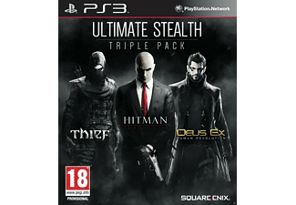 Ultimate Stealth Pack - Thief, Hitman Absolution, Deus Ex Human Revolution PS3