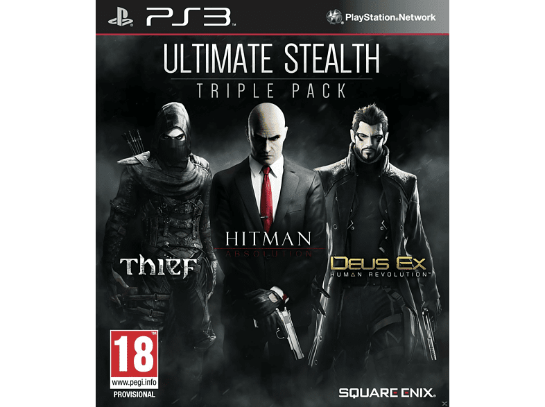 Ultimate Stealth Pack - Thief, Hitman Absolution, Deus Ex Human Revolution PS3 gaming   offline sony ps3 παιχνίδια ps3 gaming games ps3 games