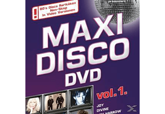 VARIOUS - Maxi Disco Dvd Vol.1 - (DVD)