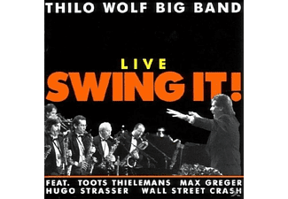 Thilo Wolf Big Band - Live Swing It! [CD]