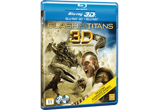 Clash of the Titans Äventyr Blu-ray 3D