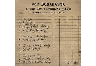 Joe Bonamassa - A New Day Yesterday-Live (CD)