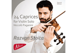 Razvan Stoica - 24 Caprices For Violin Solo - (CD)