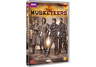 The Musketeers Äventyr DVD