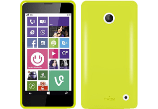 PURO PU-107931 Back Case Silicon Collection, Backcover, Lumia  630, Lumia 635, Lime Green