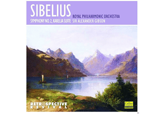 Royal Philharmonic Orchestra - Sibelius: Symphony No. 2 - Karelia Suite - (CD)
