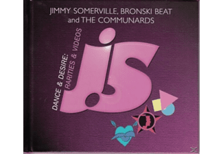 Jimmy/bronski Somerville - Dance  Desire: Rarities & Videos - (CD + DVD Video)