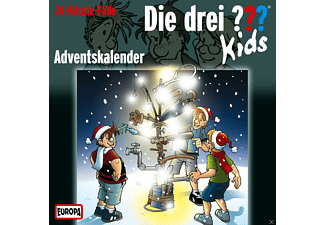 Die drei ??? - Die drei ??? Kids: Adventskalender - (CD)