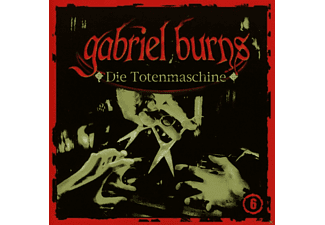 Gabriel Burns 06: Die Totenmaschine - 1 CD - Horror