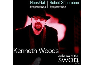 Hans (1890-1987) Gal, Kenneth Woods - Gal Sinf.4/Schumann Sinf.2 - (CD)