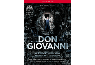 Mariusz Kwiecien, Alex Esposito, Malin Byström, Alexander Tsymbalyuk, Antonio Poli, Elizabeth Watts, Gens Veronique, Orchestra Of The Royal Opera House - Don Giovanni - (DVD)