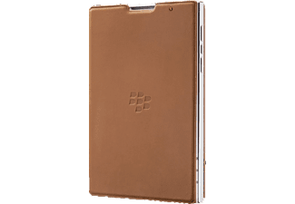 ACC-59524-002 Bookcover Blackberry Passport Echtleder Braun