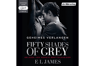 50 Shades of Grey - Geheimes Verlangen - (MP3-CD)