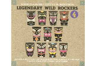 Keb Darge & Little Edith Prese - Legendary Wild Rockers 4 - (CD)