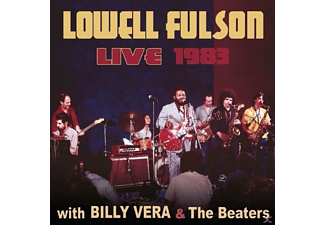 Lowell Fulson - Live With Billy Vera & Teh Beaters - (CD)
