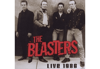 The Blasters - LIVE 1986 - (CD)
