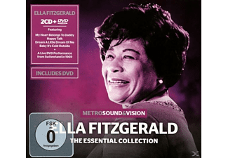 Ella Fitzgerald - Essential Collection (2cd+Dvd) - (CD)