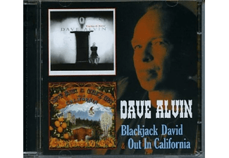 Dave Alvin - BLACKJACK DAVID/OUT IN CALIFORNIA - (CD)