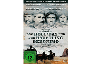 DOC HOLLIDAY UND DER HÄUPTLING GERONIMO [DVD]