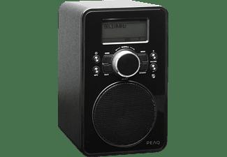 peaq pdr210 internetradio in schwarz kaufen saturn. Black Bedroom Furniture Sets. Home Design Ideas