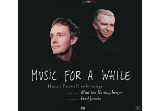 Fred Jacobs, Maarten Koningsberger, Koningsberger,Maarten/Jacobs,Fred - Music for a While - (CD)