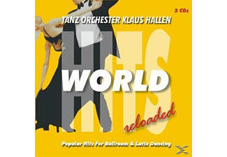 Klaus Tanzorchester Hallen - World Hits Reloaded - Popular Hits For Ballroom & Latin Danc [CD]