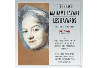 CHOUERS ET ORCH.RADIO LYRIQUE DE PARIS - Madame Favart/Les Bavards [CD]