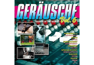 VARIOUS - Geräusche Vol.6-Sounds Of The World - (CD)