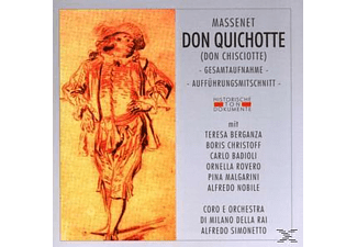 VARIOUS - Don Quichotte (Don Chisciotte) [CD]