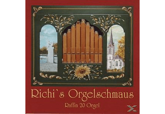 Richi's Orgelschmaus - Raffin 20 Orgel [CD]