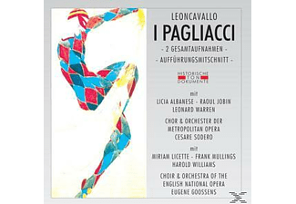 VARIOUS - I Pagliacci [CD]