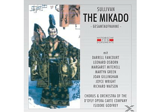 Chorus & Orchestra Of The D'oyly Opera Carte Company - The Mikado (The Town Of Titipu) - (CD)