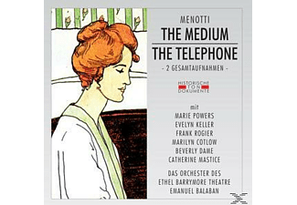 Orch.D.Ethel Barrymore Theatre - The Medium/The Telephone [CD]
