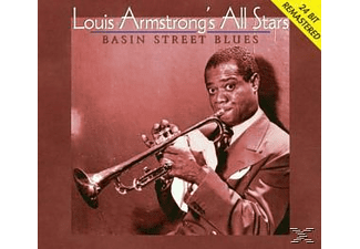 Louis (& His All Stars) Armstrong - Basin Street Blues - (CD)