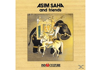 Asim And Friends Saha - Indoculture - (CD)