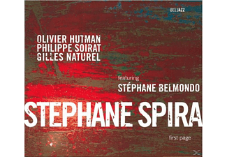 Stephane Spira - First Page - (CD)