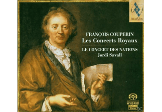 Savall - Les Concerts Royaux - (CD)